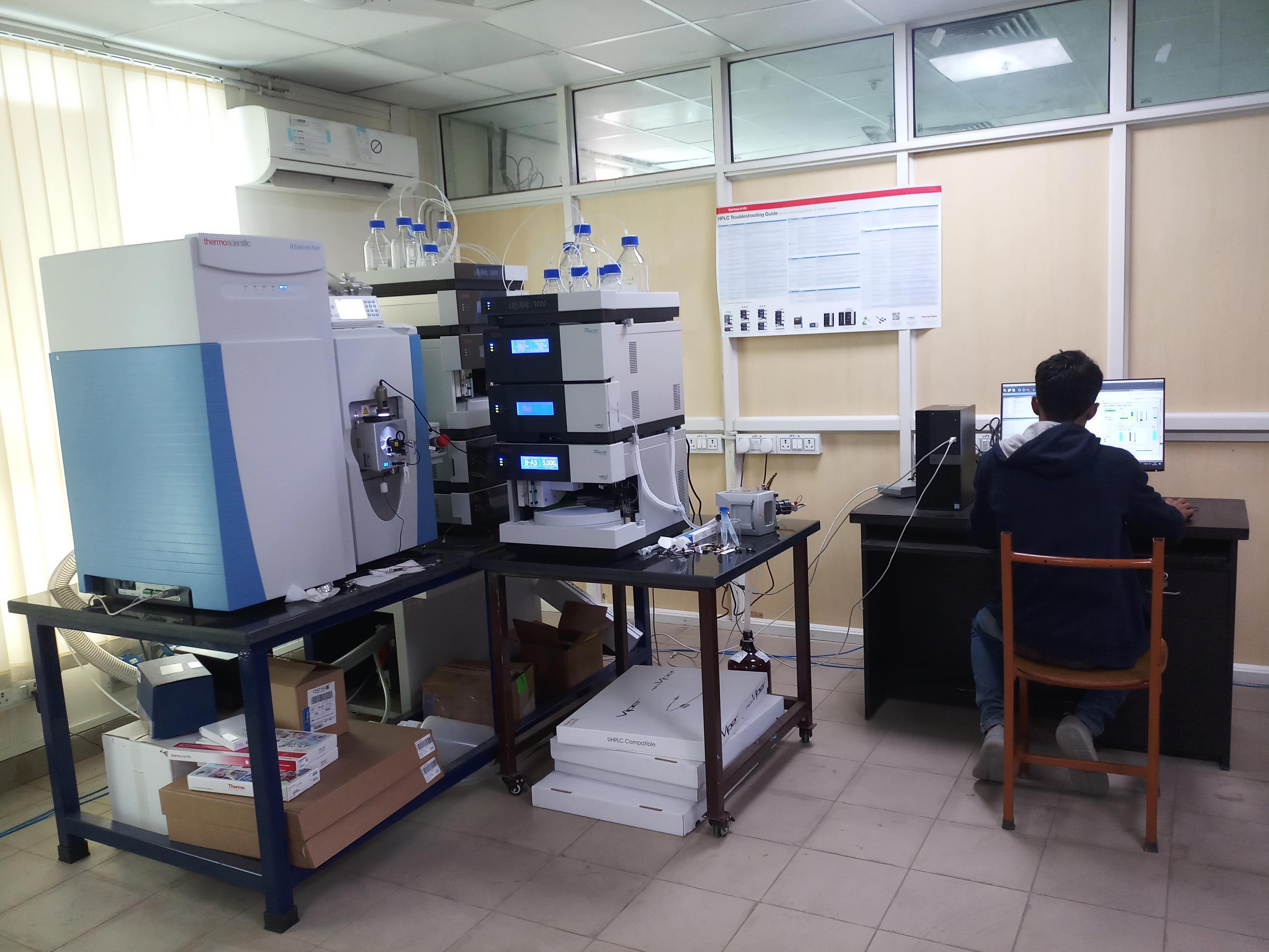 High resolution mass spectrometry (HRMS)